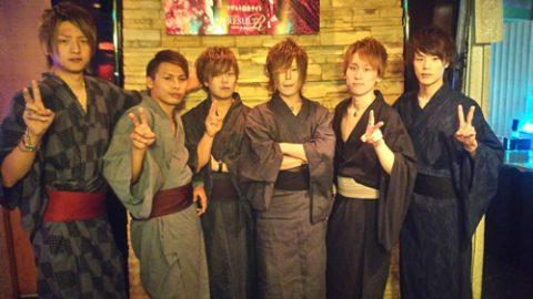 岡山のホストクラブRESULT 夏祭り