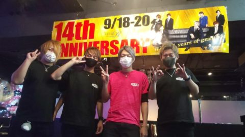 岡山ホストクラブRESULT14周年