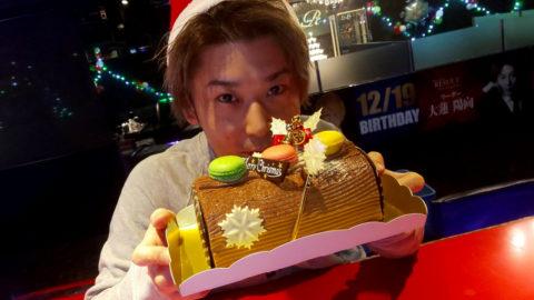 ホスト陽向とクリスマスケーキ
